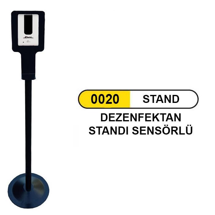 0020 SENSÖRLÜ DEZENFEKTAN STANDI